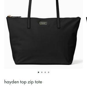 Kate Spade ♠️ Hayden Top Zip Bag